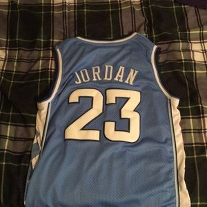 Blue UNC Michael Jordan Jersey